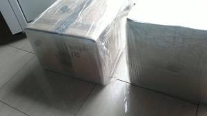 Cajas bien embaladas