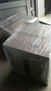 Cajas enviadas con CANGOBOX