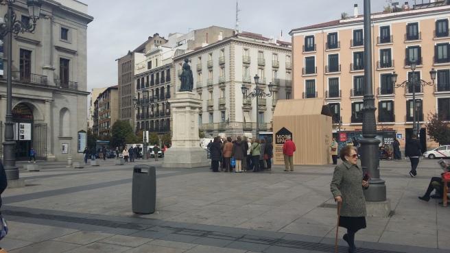 Campaña de Lufthansa en Madrid